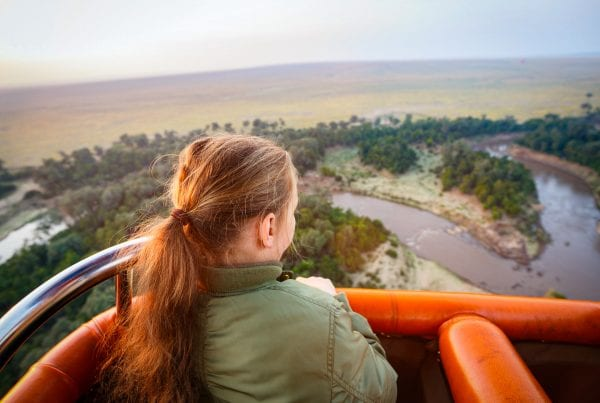 Kenya is a true trip of a lifetime, visiting some of the most spectacular places on earth! Balloon flight over the Maasai Mara. Image by BlueOrange Studio, 123rf.com